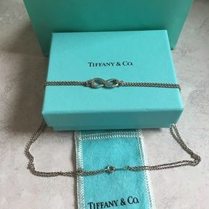 Tiffany and Co. Infinity Pendant necklace